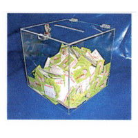Acrylic Box with lock